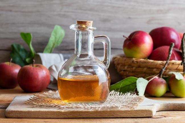 Tomar banho com vinagre de sidra