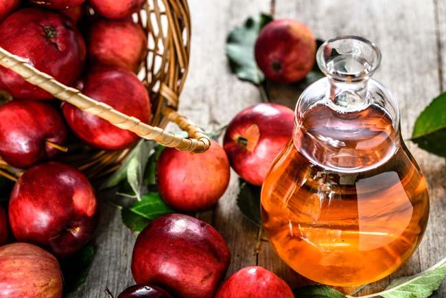 Vinagre de maçã como condicionador caseiro