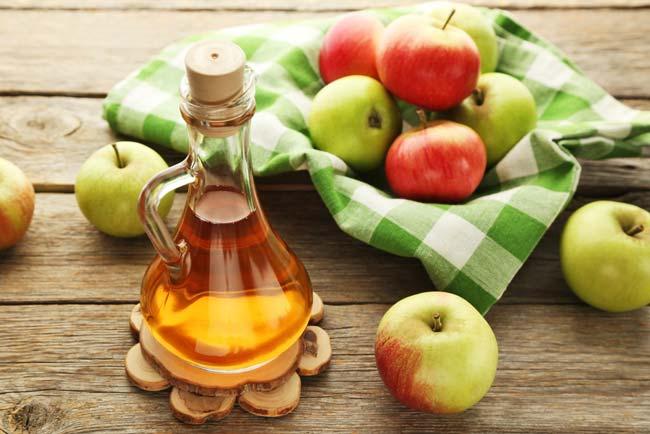 Vinagre de maçã na máquina de lavar