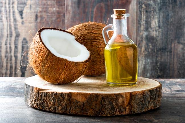 óleo de coco é usado