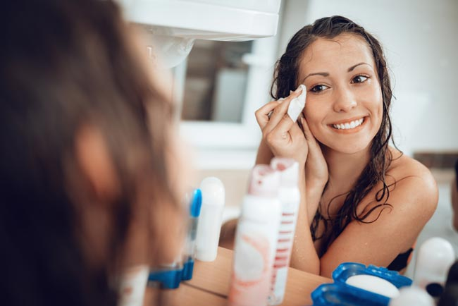formas de remover a maquilhagem