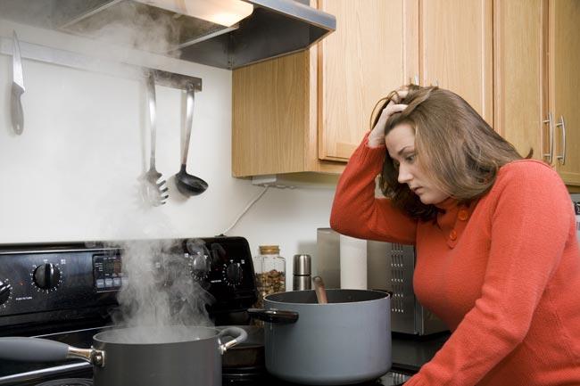erros na cozinha