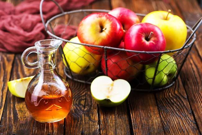 efeitos colaterais do vinagre de maçã