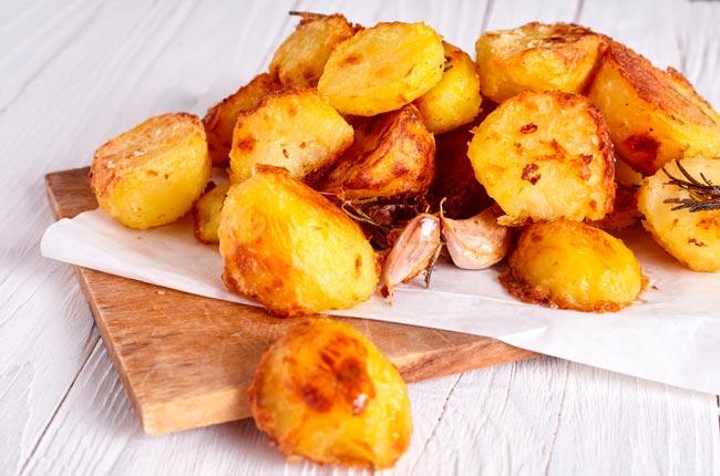 batatas assadas com paprica