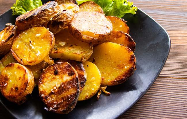 Batatas assadas da vovó