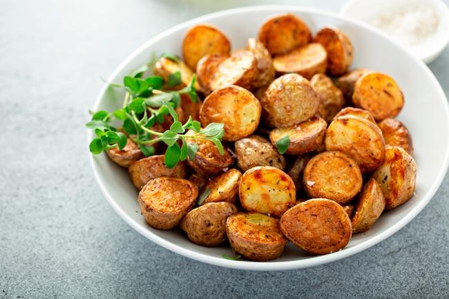batatas assadas para saborear