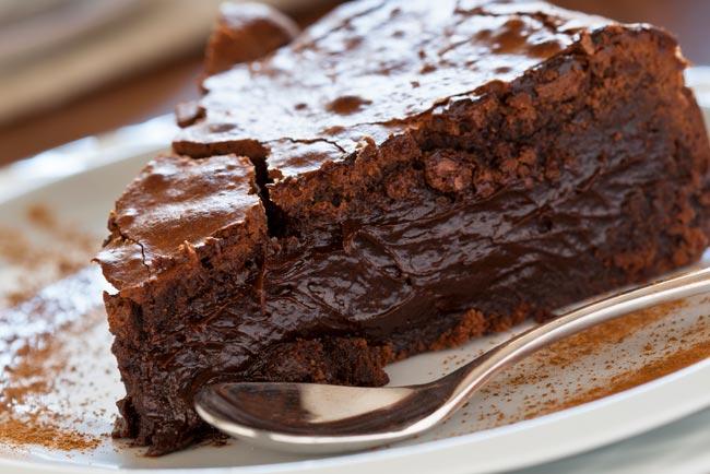 bolo de chocolate da avó Palmira