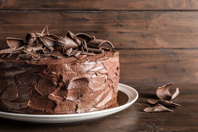 bolo de chocolate da vovó
