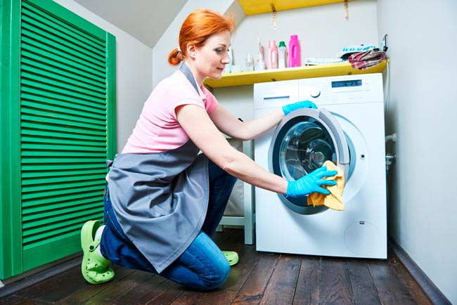 Como limpar a máquina de lavar roupa