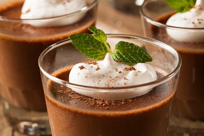 mousse de chocolate da avó Palmira