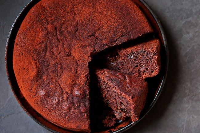 O melhor bolo de chocolate da avó