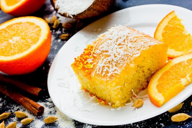bolo de laranja de liquidificador