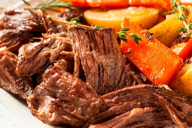 suculenta carne assada