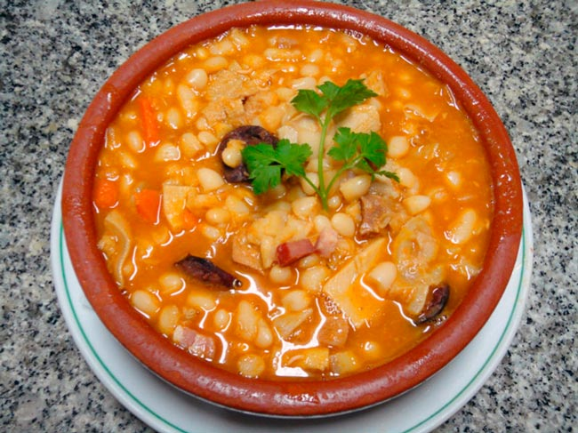 pratos típicos do Porto e Norte