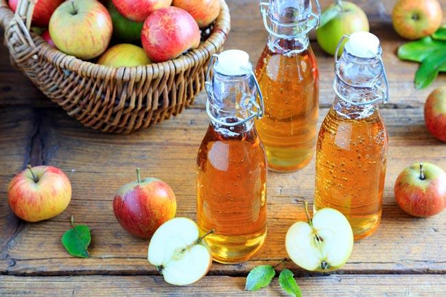 vinagre de maçã para alisar o cabelo