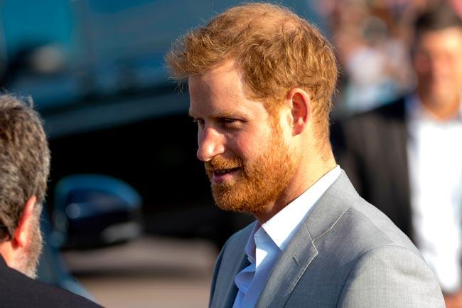 curiosidades sobre o Príncipe Harry