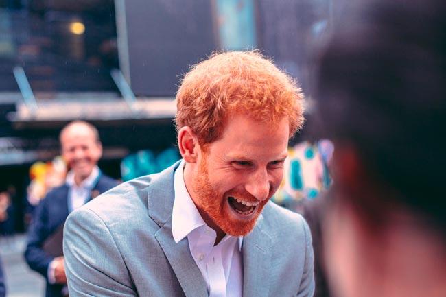 factos desconhecidos do príncipe Harry