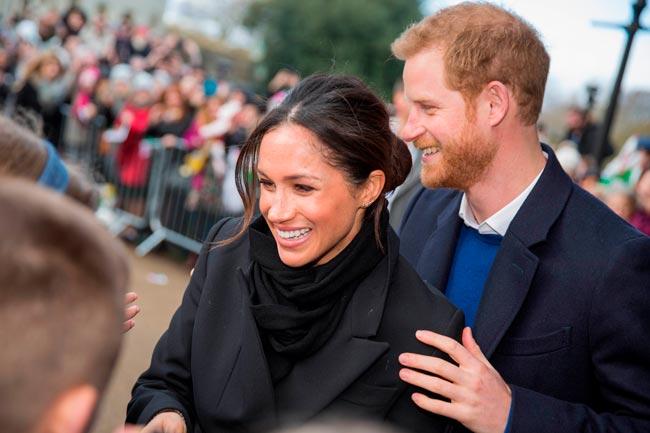 Meghan Markle mudou no príncipe Harry