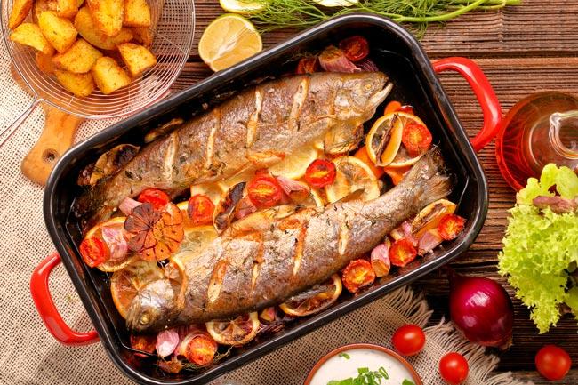 temperar peixe para assar