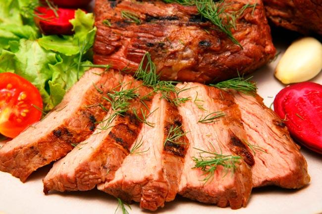 A melhor carne assada macia