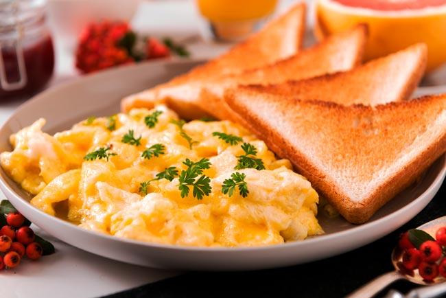 Como fazer ovos mexidos na perfeição