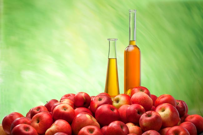 fãs do vinagre de maçã
