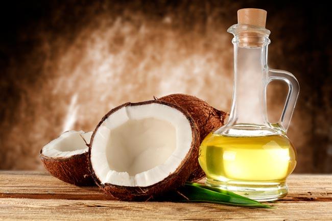 usar óleo de coco com resultados