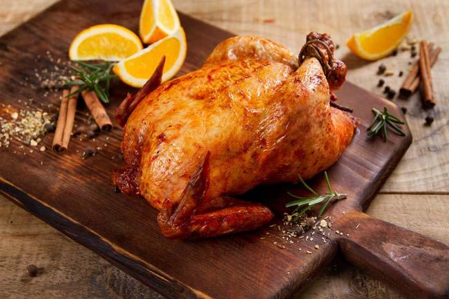 temperar o frango
