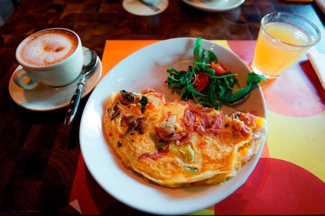omelete perfeita e saborosa