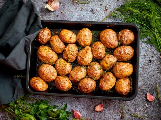 melhores batatas assadas rústicas