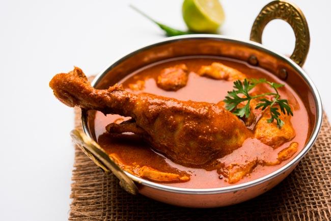 caril de frango