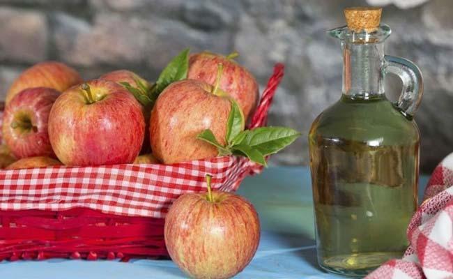 usar vinagre de maçã no cabelo com resultados