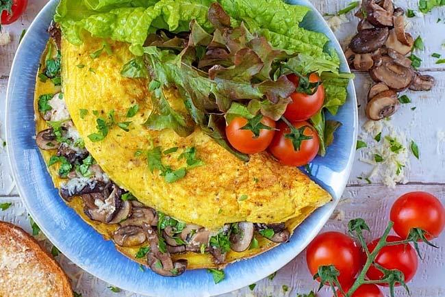 segredo para a omelete perfeita