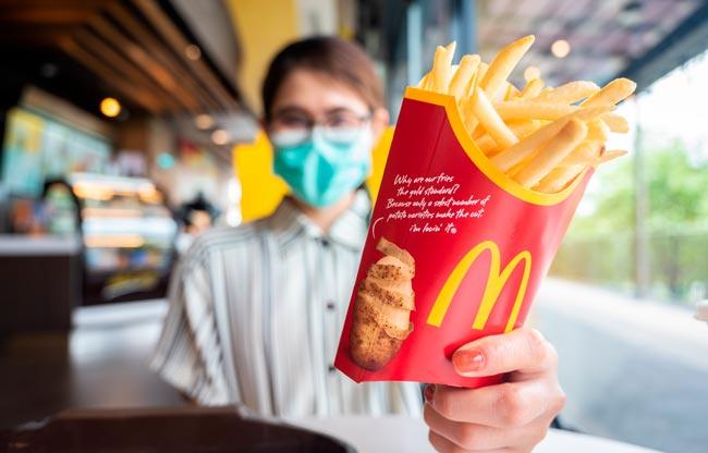 Batatas fritas McDonald's