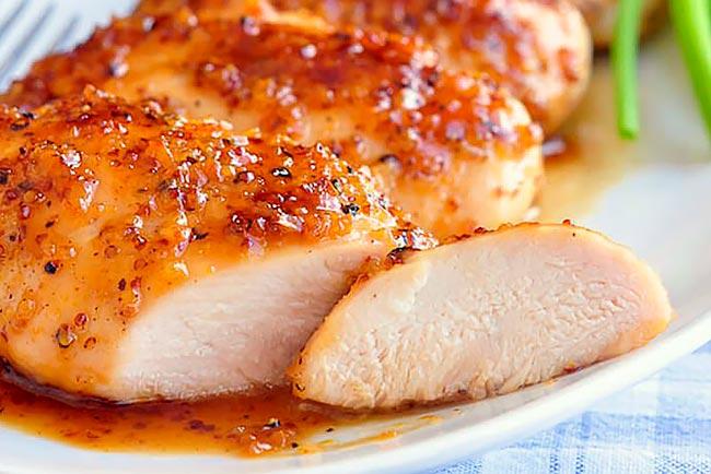 bifes de frango no forno