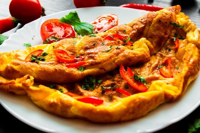 melhor omelete de sempre