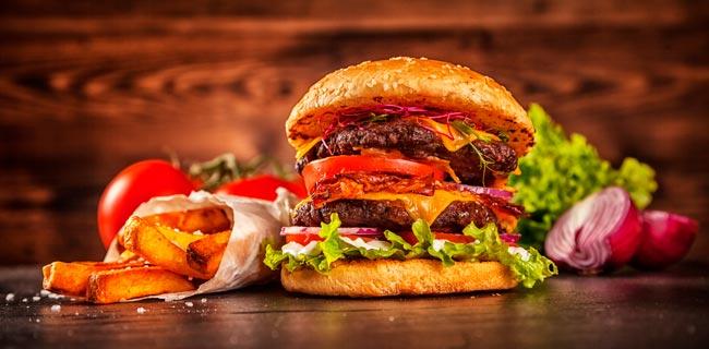 Como fazer um hambúrguer