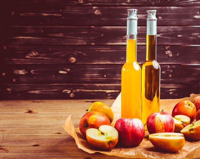 forma correta de beber vinagre de maçã