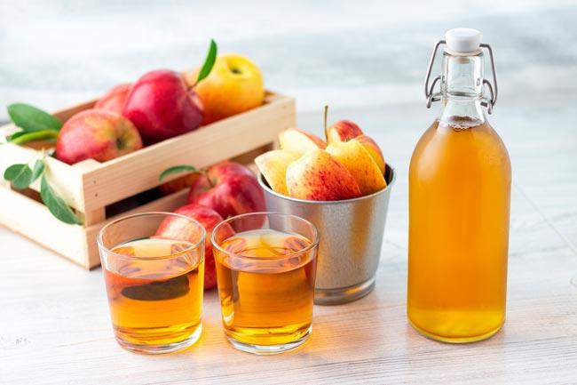 vinagre de maçã para prevenir queda de cabelo