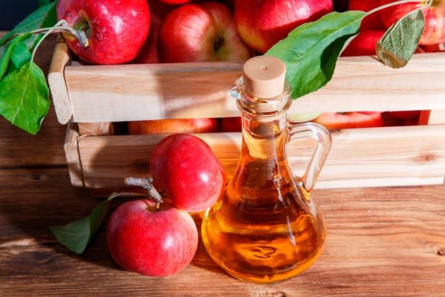 coisas que não deve fazer se beber vinagre de maçã