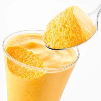 mousse de ananás cremosa
