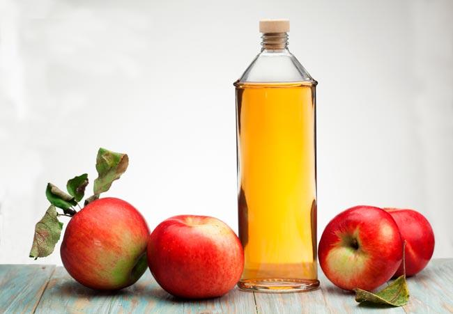 consumir muito vinagre de maçã