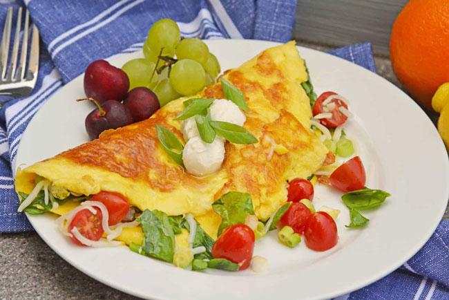 dicas para fazer a melhor omelete do mundo