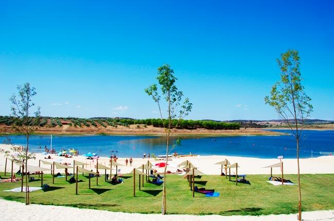 praias fluviais do Alqueva