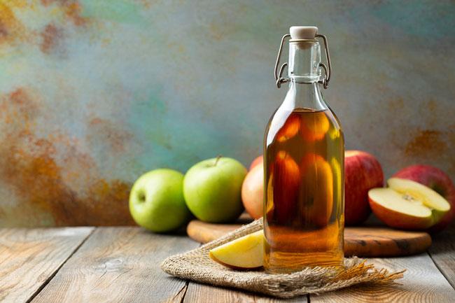 vinagre de maçã com esta medicação