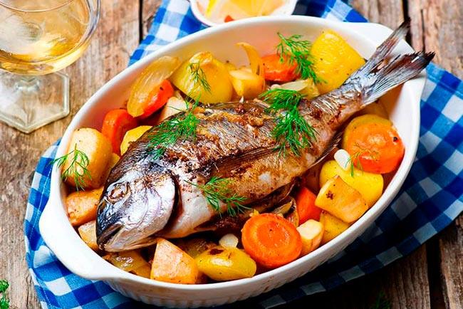 para temperar peixe para assar