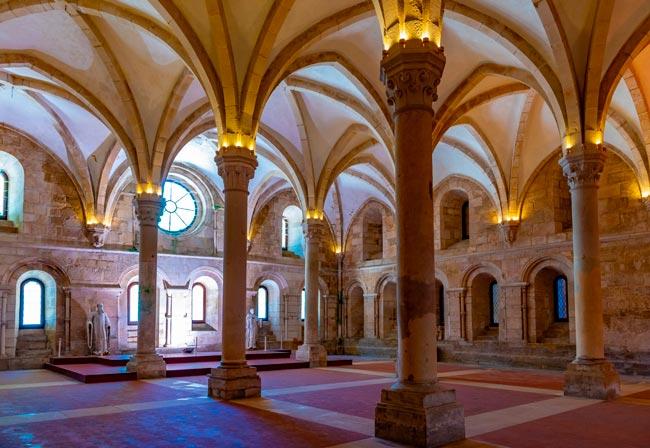 porta Pega Gordo do Mosteiro de Alcobaça