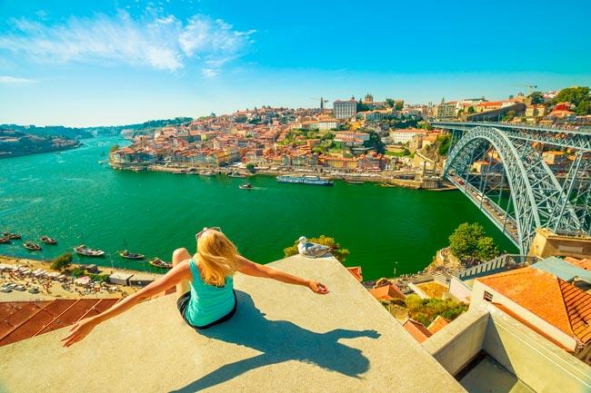 turistas invadem Portugal