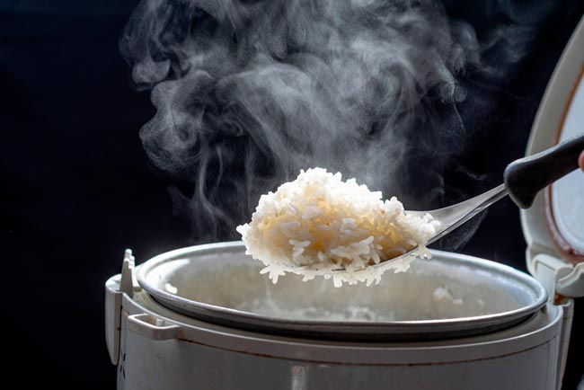 regras de ouro para o arroz perfeito