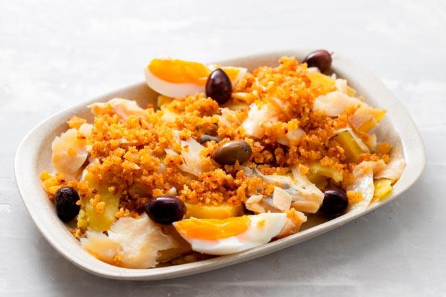 receitas tradicionais com bacalhau